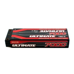 ULTIMATE GRAPHENE HV LiPo STICK 7000 7.6V 120C 5mm TUBES