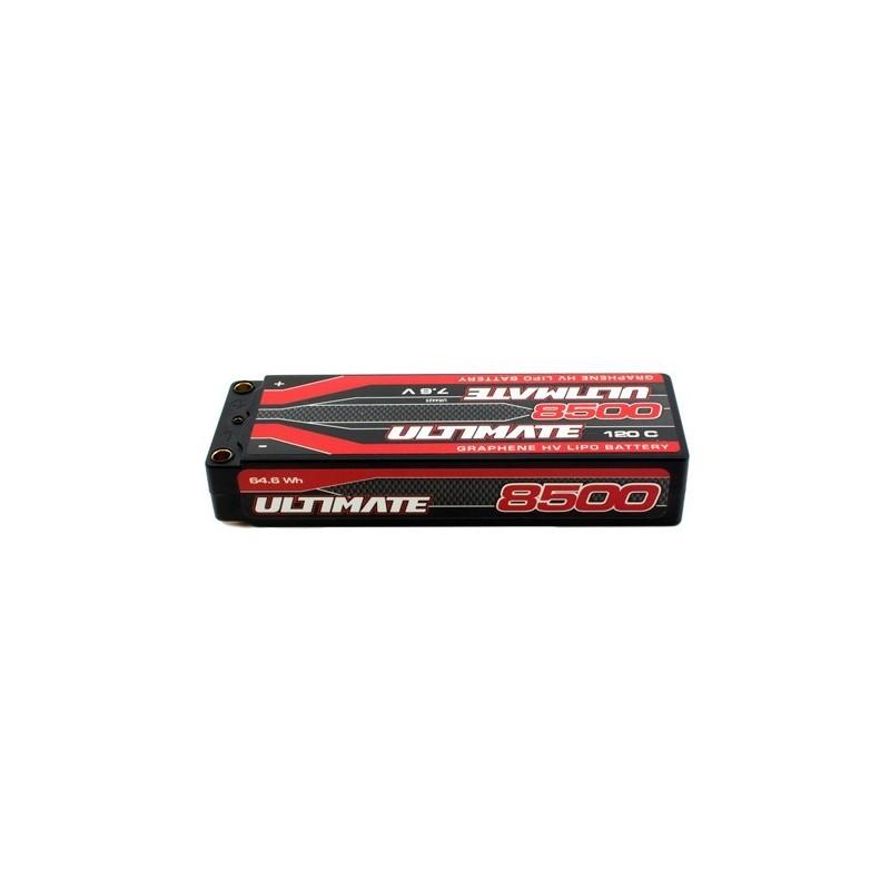ULTIMATE GRAPHENE HV LiPo STICK 8500 7.6V 120C 5mm TUBES