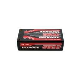 ULTIMATE Graphene HV LiPo SHORTY 5800 7.6V 120C 5mm TUBES