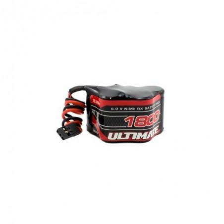 ULTIMATE 6.0v 1800mAh NiMh Hump Receiver Battery Pack JR
