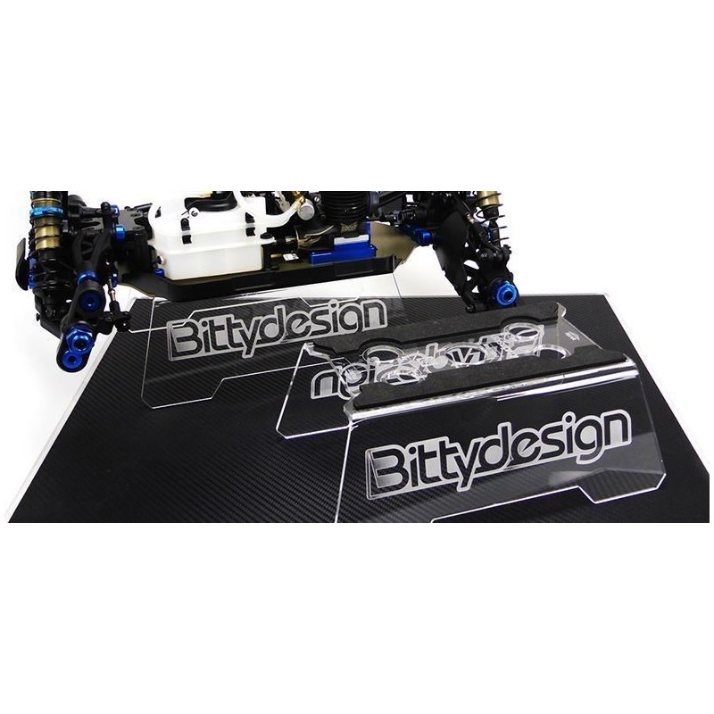 Car Stand metacrilato 1/8 Buggy y Truggy - Bitty Design