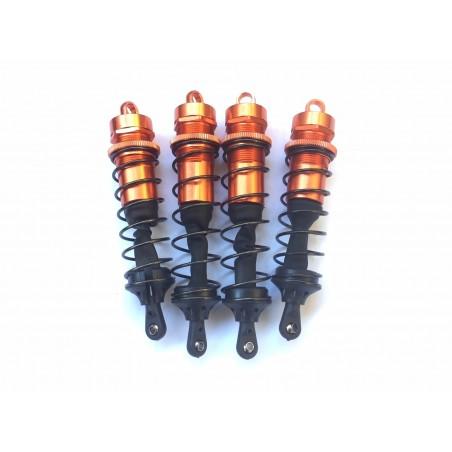 Set Amortiguadores 1/8 delanteros y traseros Aluminio
