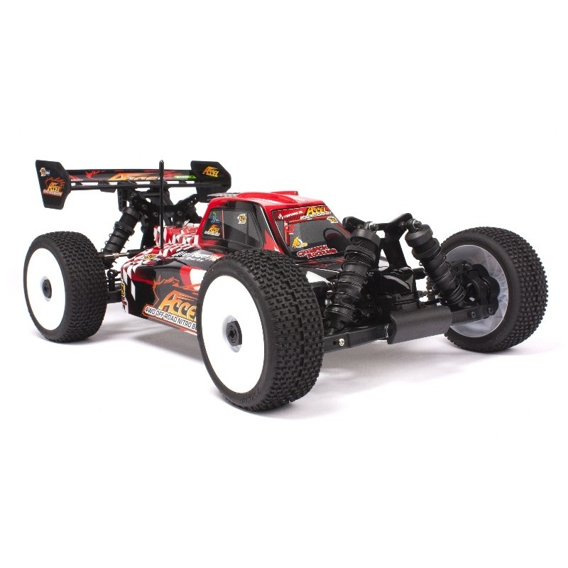 Buggy HB 1/8 Nitro ACCEL Alpha Engine - RTR