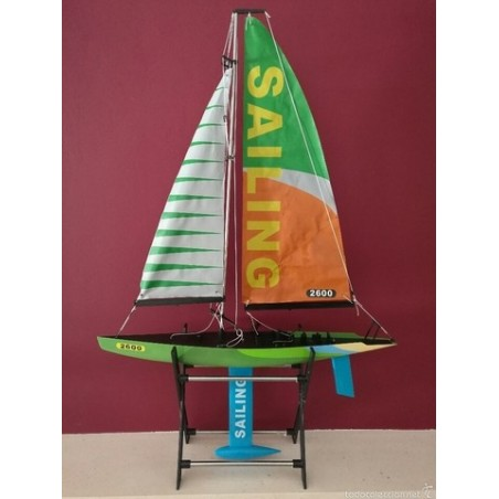 Sailing RC boat 2600 Ready to surf