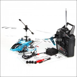 Helicopter DFD F163 Avatar 4 channels - Blue