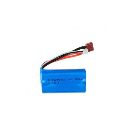 Bateria LiPo 7.4v 1500mAh 1/12 WLToys