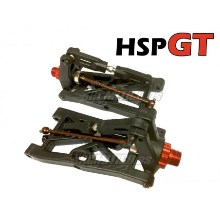 Rear Arm - Hub Carrier and Drive Shaft SET for HSP GT