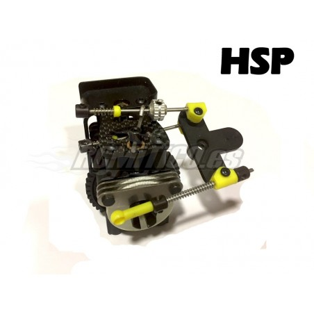 Center differential complete SET with brake for HSP GT 1/8