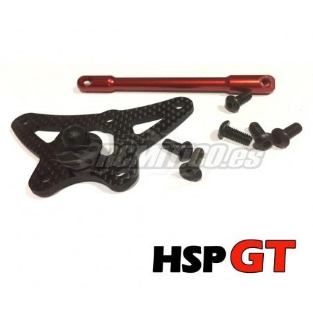 SET Araña de direccion y rigidificadora HSP GT 1/8