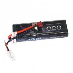 Bateria LiPo Gens Ace 7.4v 4000mAh 25C - Caja Dura