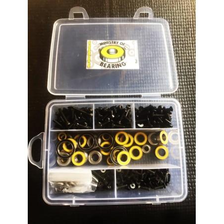 Kit de tornilleria y Kit de rodamientos Serpent SRX8