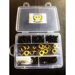Kit de tornilleria y Kit de rodamientos Associated RC8B3.1