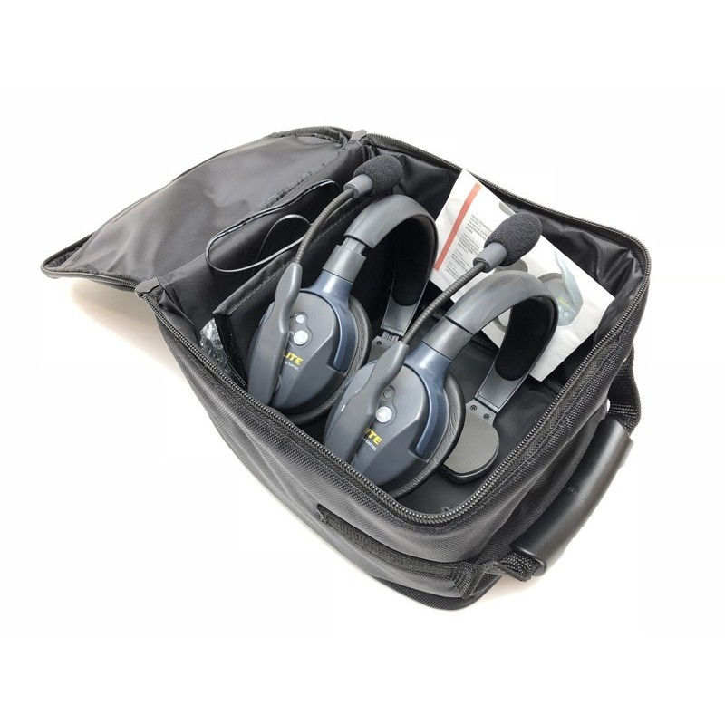 UltraLITE 3 Person System 3 Single Headsets Batt. and charger