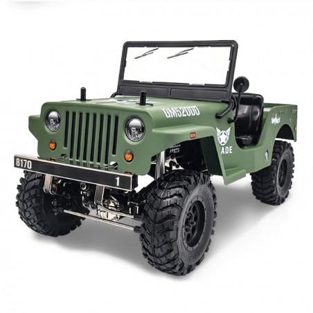 GMADE 1/10 GS01 SAWBACK Militar RTR