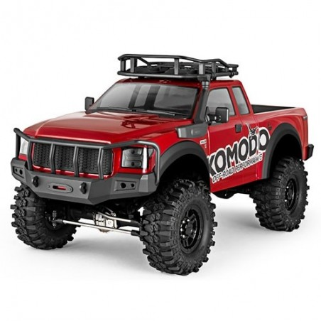 GMADE 1/10 GS01 Crawler KOMODO KIT with Etronix Combo