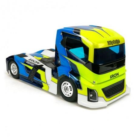 Carroceria Camion IRON 190mm 1/10 - Transparente