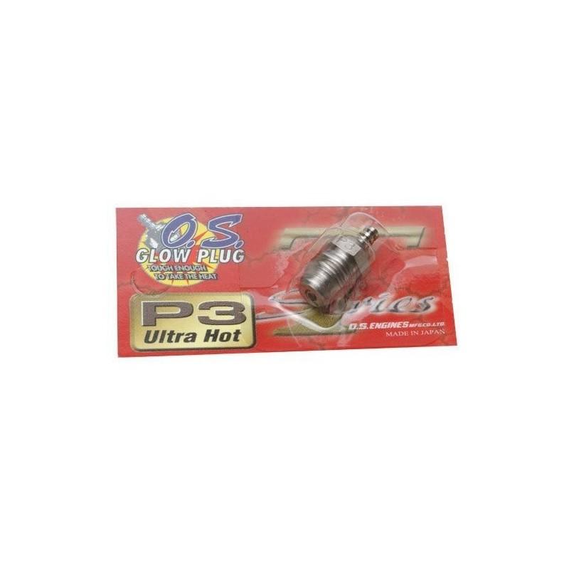 OS Speed Turbo Glow Plug P3 Ultra Hot - Original
