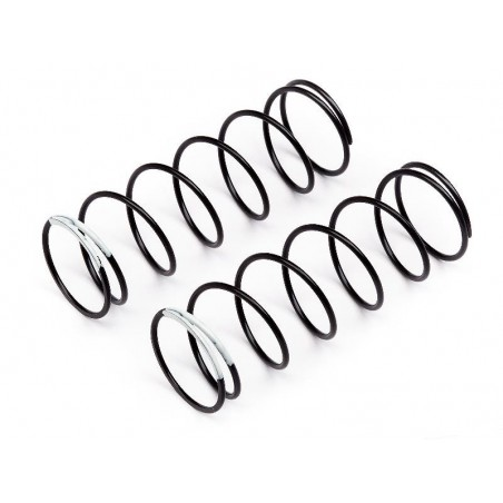109807 - Shock Spring WHITE 68mm Front x2 pcs