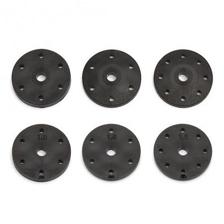 AS81200 - Pistones de amortiguador RC8B3/3.1