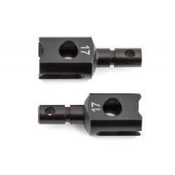 AS81012 - Vasos diferencial 17mm del. y central RC8B3/3.1
