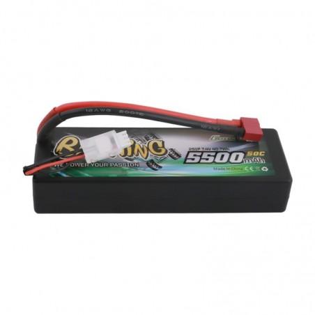 Gens Ace Bashing 5500mAh 7.4v 50C 2S1P Hardcase Lipo Battery