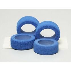 15117 - Reston Sponge Tires Blue Tamiya