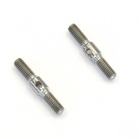 92509 - Titanium adjust rod 3x20mm x2 pcs
