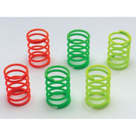 92491 - On-Road Shock Spring Set Kyosho x6 pcs