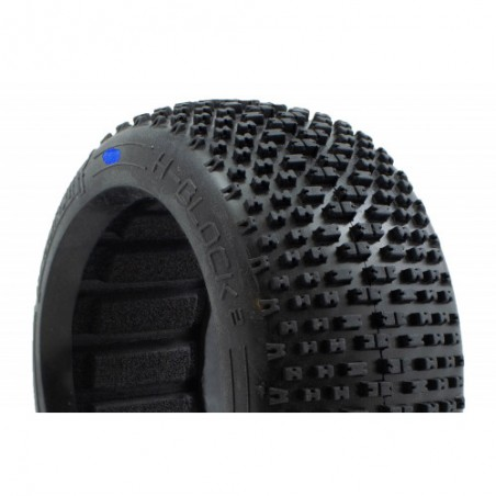 Neumaticos H-Block V2 C4 HardProcircuit con foam x2 uds.