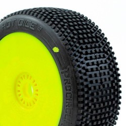 Procircuit Tires Hot Dice V2 C2 Soft Glued x2 pcs