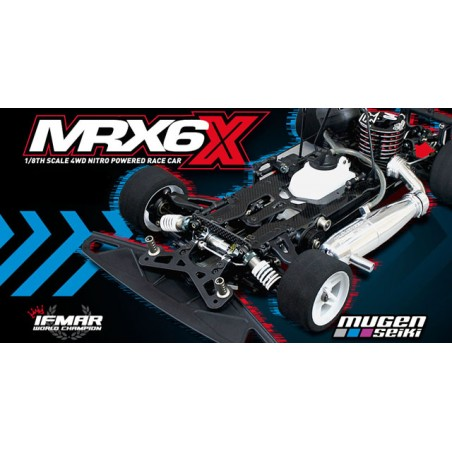 Mugen MRX6X 1/8 Nitro Kit - Competition