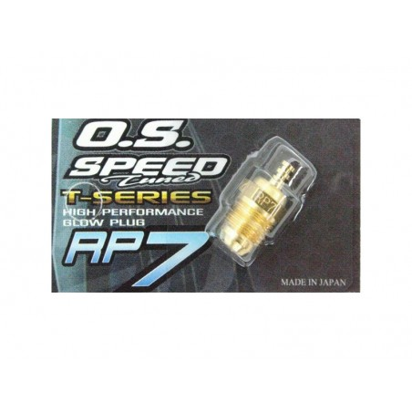 Turbo Glow Plug OS RP7 Cold GOLD EDITION On Road