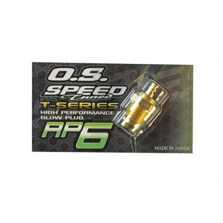 Turbo Glow Plug OS RP6 Hot GOLD EDITION Touring / On Road