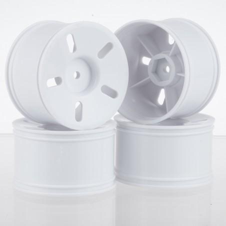 83703 - 1/16 Truggy Wheel White Set x4 pcs