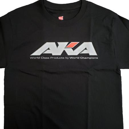 AKA Short Sleeve Black Shirt (XL)