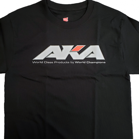 Camiseta AKA color Negro Talla XXL