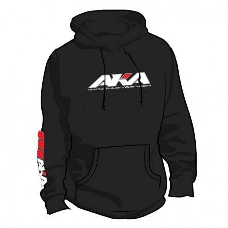 AKA Black Hoodie Sweatshirt (EXTRA LARGE)