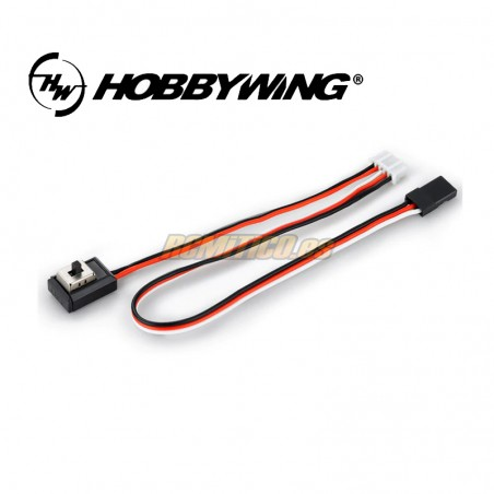Interruptor Hobbywing  EZRUN - 18A - 60A Tipo C