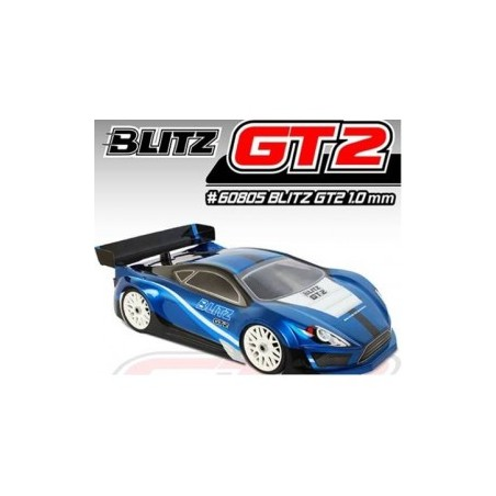 Blitz 1/8 GT GT2 Clear Lexan 1.0mm Body