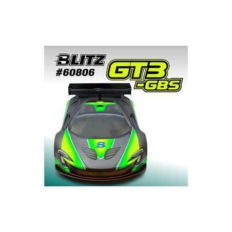 Carroceria Blitz 1/8 GT GT3-GBS Lexan 1.0 mm