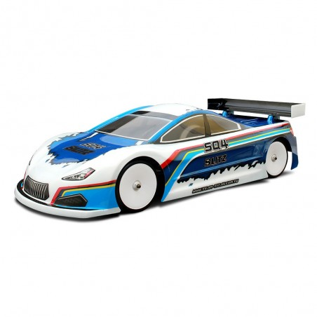 Blitz SQ4 190mm 0.7mm Touring Lexan Clear Body