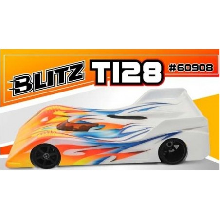 Blitz T128 1/12 Lexan 0.7mm On Road Clear Body