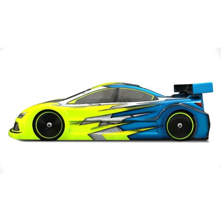 BLITZ C8 1/10 190mm Lexan 0.7mm Touring Body with wing