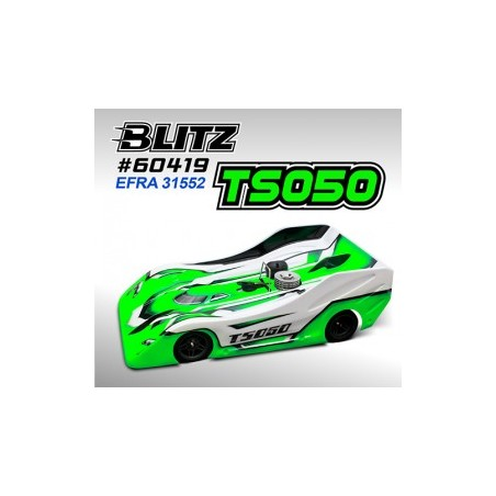 BLITZ TS050 1/8 On Road Lexan 0.7mm Clear Body