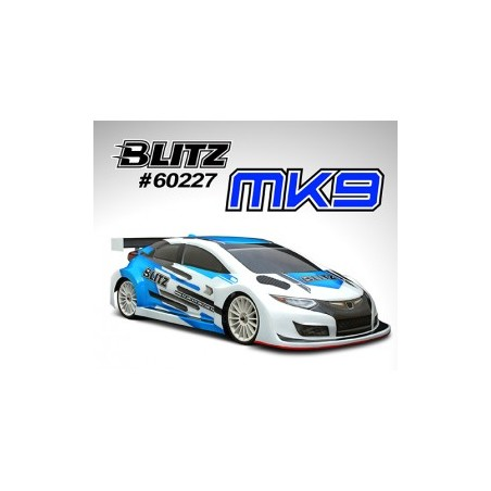 BLITZ MK9 190mm 0.7mm Touring Body with wing