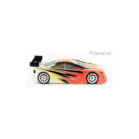 BLITZ RS4 Racing 1/10 Mini 0.8mm Clear Body with wing