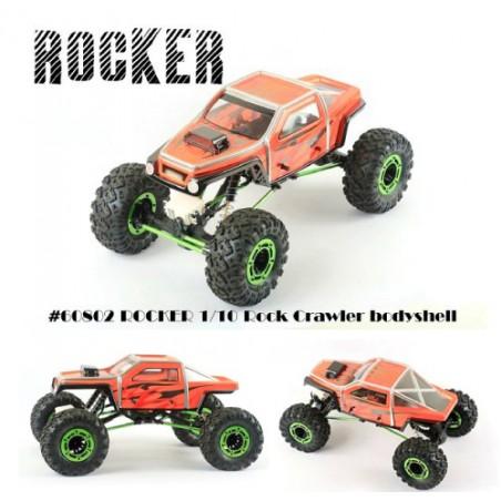 Carroceria Blitz Rocker 1/10 Crawler transparente