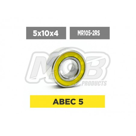 Rodamiento 5x10x4 2RS - Ministry of Bearing