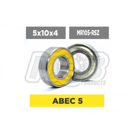 Ball bearing 5x10x4 RSZ - Ministry of Bearing