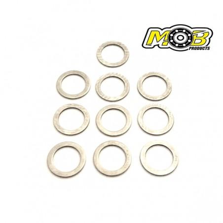 Clutch play adjustment washers 5.5x10x0.3mm x10 pcs